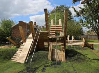Bespoke climbing structure