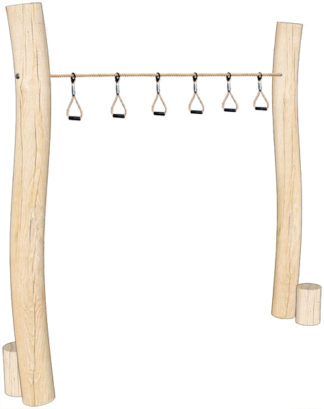Wooden Trapeze Ropes