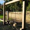 playground swinging steps